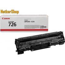 Canon CRG 726 (3483B002) fekete eredeti toner (1 év garancia)
