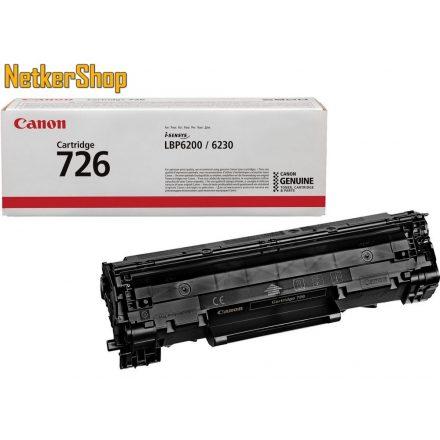 Canon CRG-726 (3483B002) fekete eredeti toner (1 év garancia)