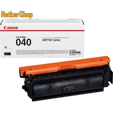 Canon CRG-040 (0458C001) cyan eredeti toner (1 év garancia)
