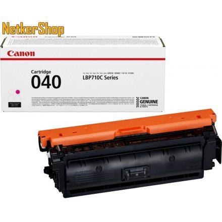 Canon CRG 040 (0456C001) magenta eredeti toner (1 év garancia)