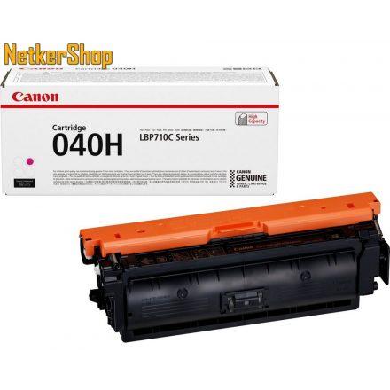 Canon CRG-040H (0457C001) nagy kapacitású magenta eredeti toner (1 év garancia)