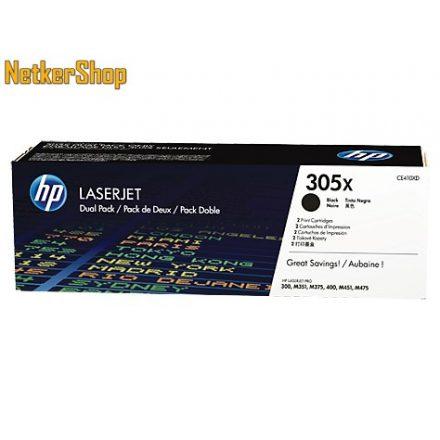 HP CE410XD (305X) duopack nagykapacitású fekete eredeti toner (1 év garancia)
