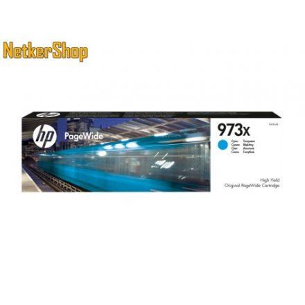 HP F6T81AE (973X) nagykapacitású cyan eredeti toner (1 év garancia)