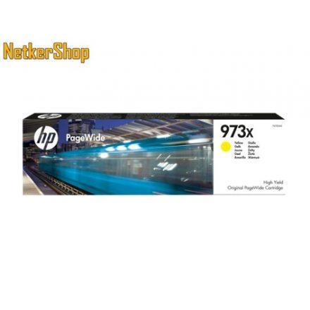 HP F6T83AE (973X) nagykapacitású sárga eredeti toner (1 év garancia)
