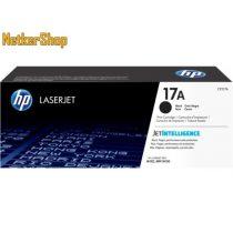 HP CF217A (17A) fekete eredeti toner (1 év garancia)