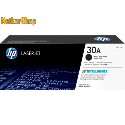 HP CF230A (30A) fekete eredeti toner (1 év garancia)