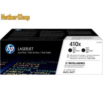 HP CF410XD (410X) duopack nagykapacitású fekete eredeti toner (1 év garancia)