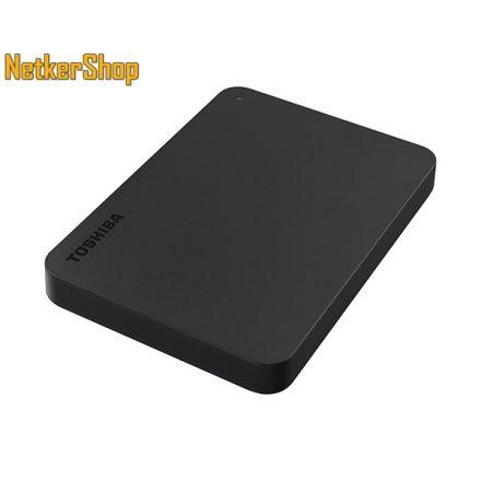 """Toshiba HDTB410EK3AA Canvio Basics 1TB 2.5"""" USB 3.0 fekete külső Merevlemez HDD Winchester (2 év garancia)"""
