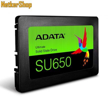 "A-Data ASU650SS-480GT-R 480GB Ultimate SU650 SATA3 2.5"" SSD Merevlemez (3 év garancia)"