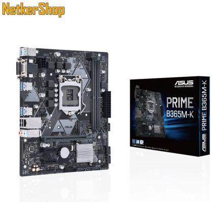 ASUS PRIME B365M-K LGA1151 2xDDR4 2666MHz 32GB 1xPCIEx16 2xPCIEx1 Alaplap (3 év garancia)