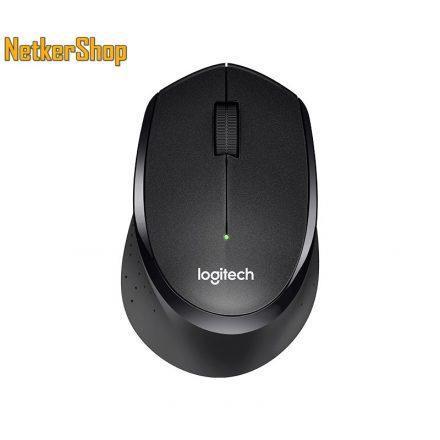 Logitech B330 Silent Plus optikai vezeték nélküli USB fekete egér (2 év garancia)
