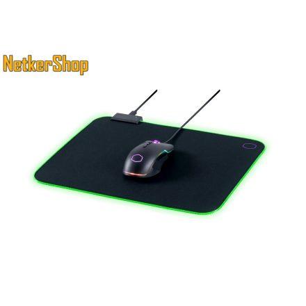 Cooler Master MPA-MP750-M Soft RGB gaming egérpad (2 év garancia)