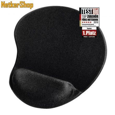 Hama (54779) ergonómikus fekete egérpad (1 év garancia)