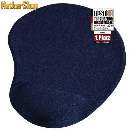 Hama (54780) ergonómikus kék egérpad (1 év garancia)
