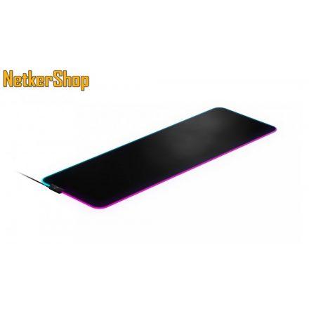 Steelseries Qck Prism Cloth XL fekete gaming egérpad (2 év garancia)
