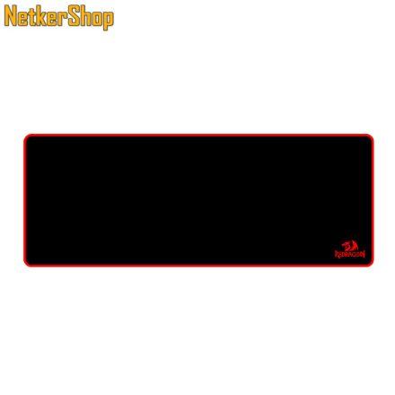 Redragon P003 Suzaku fekete-piros gaming egérpad (1 év garancia)