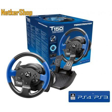 Thrustmaster T150 Force Feedback (4160628) PC/PS3/PS4 USB Kormány + pedál (2 év garancia)