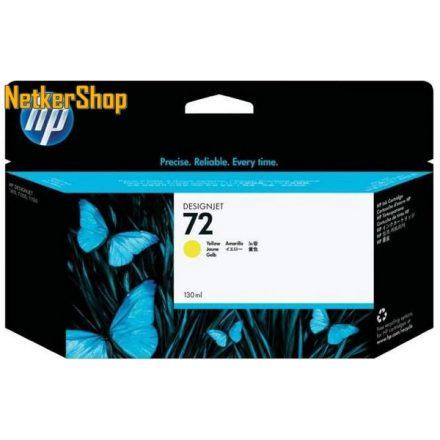 HP C9373A (72) sárga eredeti tintapatron (1 év garancia)