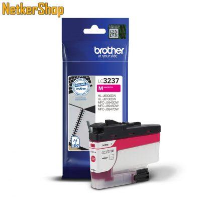 Brother LC-3237M magenta eredeti tintapatron (1 év garancia)