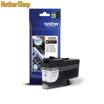 Brother LC3239XLBK nagy töltetű fekete eredeti tintapatron (1 év garancia)