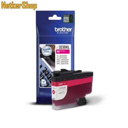 Brother LC-3239XLM nagy töltetű magenta eredeti tintapatron (1 év garancia)