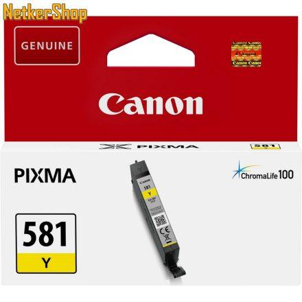Canon CLI-581Y sárga (2105C001) eredeti tintapatron (1 év garancia)