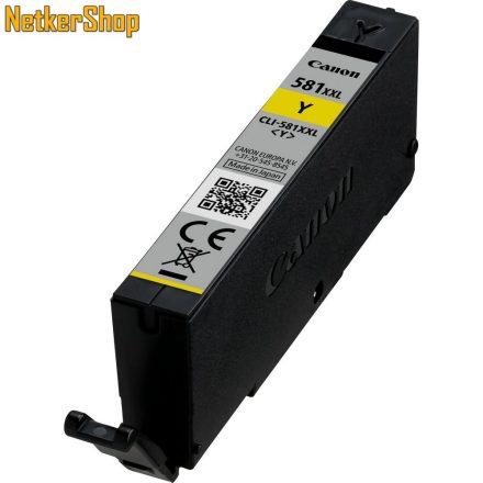 Canon CLI-581XXLY sárga (1997C001) eredeti tintapatron (1 év garancia)