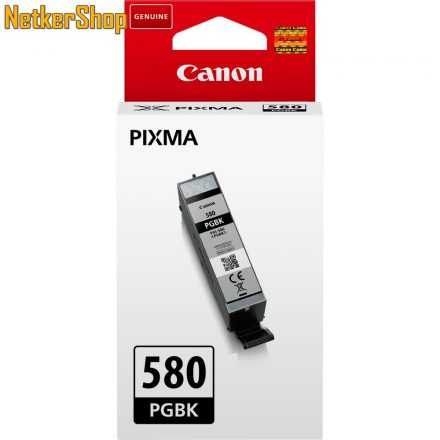 Canon PGI-580PGBK fekete (2078C001) eredeti tintapatron (1 év garancia)