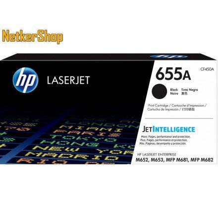 HP CF450A (655A) fekete eredeti toner (1 év garancia)