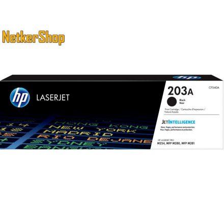 HP CF540A (203A) fekete eredeti toner (1 év garancia)