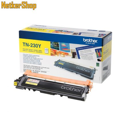Brother TN-230Y (TN230Y) sárga eredeti toner (1 év garancia)