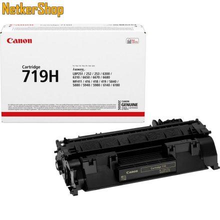 Canon CRG-719H (3480B002) nagy kapacítású fekete eredeti toner (1 év garancia)
