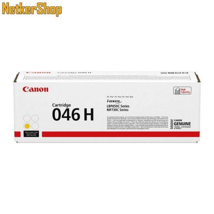 Canon CRG-046H (1251C002) nagy kapacítású sárga eredeti toner (1 év garancia)