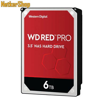 WESTERN DIGITAL WD6003FFBX 6TB 256MB SATA3 7200rpm Red Pro merevlemez winchester HDD (5 év garancia)