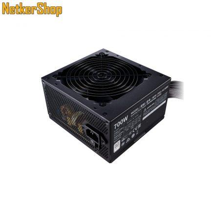 CoolerMaster MWE 700 White 230V V2 700W 12cm 80 Plus BOX tápegység (3 év garancia)