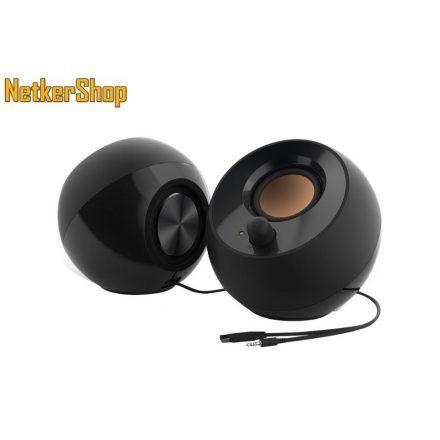 Creative Pebble (51MF1680AA000) fekete hangszóró (1 év garancia)