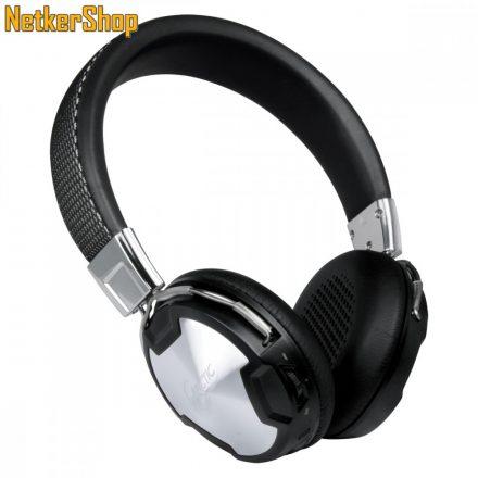 Arctic Sound P614 BT bluetooth fekete mikrofonos fejhallgató headset (2 év garancia)