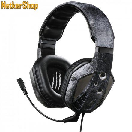 Hama uRage SoundZ Evo (113737) fekete mikrofonos gaming fejhallgató headset (1 év garancia)