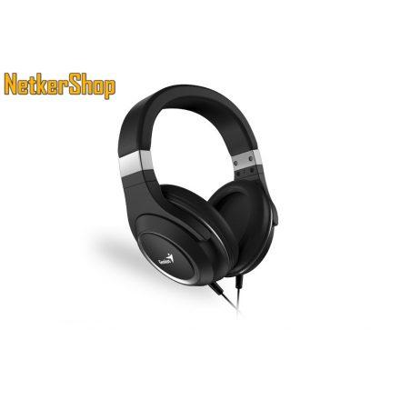 Genius HS-610 (31710010400) fekete mikrofonos fejhallgató headset (2 év garancia)