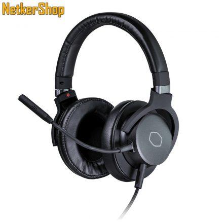 Cooler Master MH-752 fekete 7.1 mikrofonos gaming fejhallgató headset (2 év garancia)