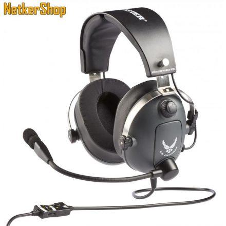 Thrustmaster T.Flight U.S. Air Force Edition PC/PS4/Xbox One fekete mikrofonos gaming fejhallgató headset (2 év garancia)