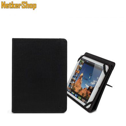 """RivaCase 3217 Gatwick kick-stand tablet folio 10.1"""" fekete tábla PC tok (2 év garancia)"""