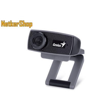 Genius Facecam 1000X V2 HD 720p USB fekete mikrofonos webkamera (2 év garancia)