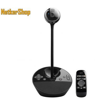 Logitech BCC950 (960-000867) HD 1080p USB fekete mikrofonos videokonferencia-rendszer webkamera (2 év garancia)