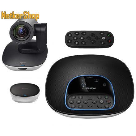 Logitech Group (960-001057) HD 1080p USB mikrofonos videokonferencia-rendszer webkamera (2 év garancia)