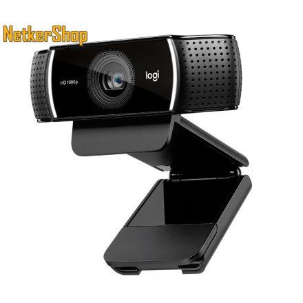 Logitech C922 Pro Stream (960-001088) HD 1080p USB fekete mikrofonos webkamera (2 év garancia)