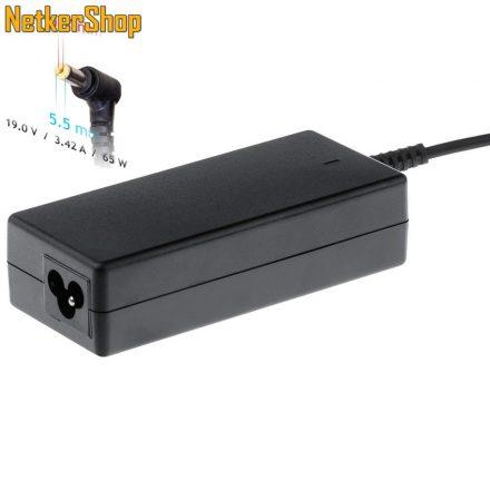 Akyga AK-ND-06 65W Acer notebook hálózati töltő adapter (2 év garancia)