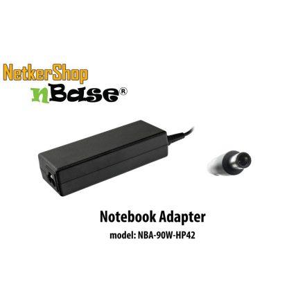 nBase NBA-90W-HP42 90W HP notebook hálózati töltő (2 év garancia)
