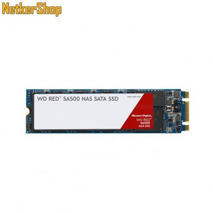 Western Digital 1TB SA500 NAS Red (WDS100T1R0B) SATA3 M.2 2280 SSD merevlemez (5 év garancia)