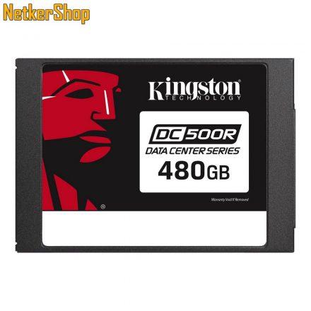 "Kingston 480GB DC500R (SEDC500R/480G) SATA3 2.5"" SSD merevlemez (5 év garancia)"
